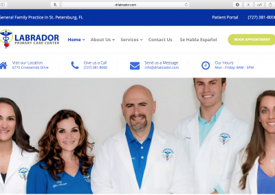 Labrador Primary Care Center Website